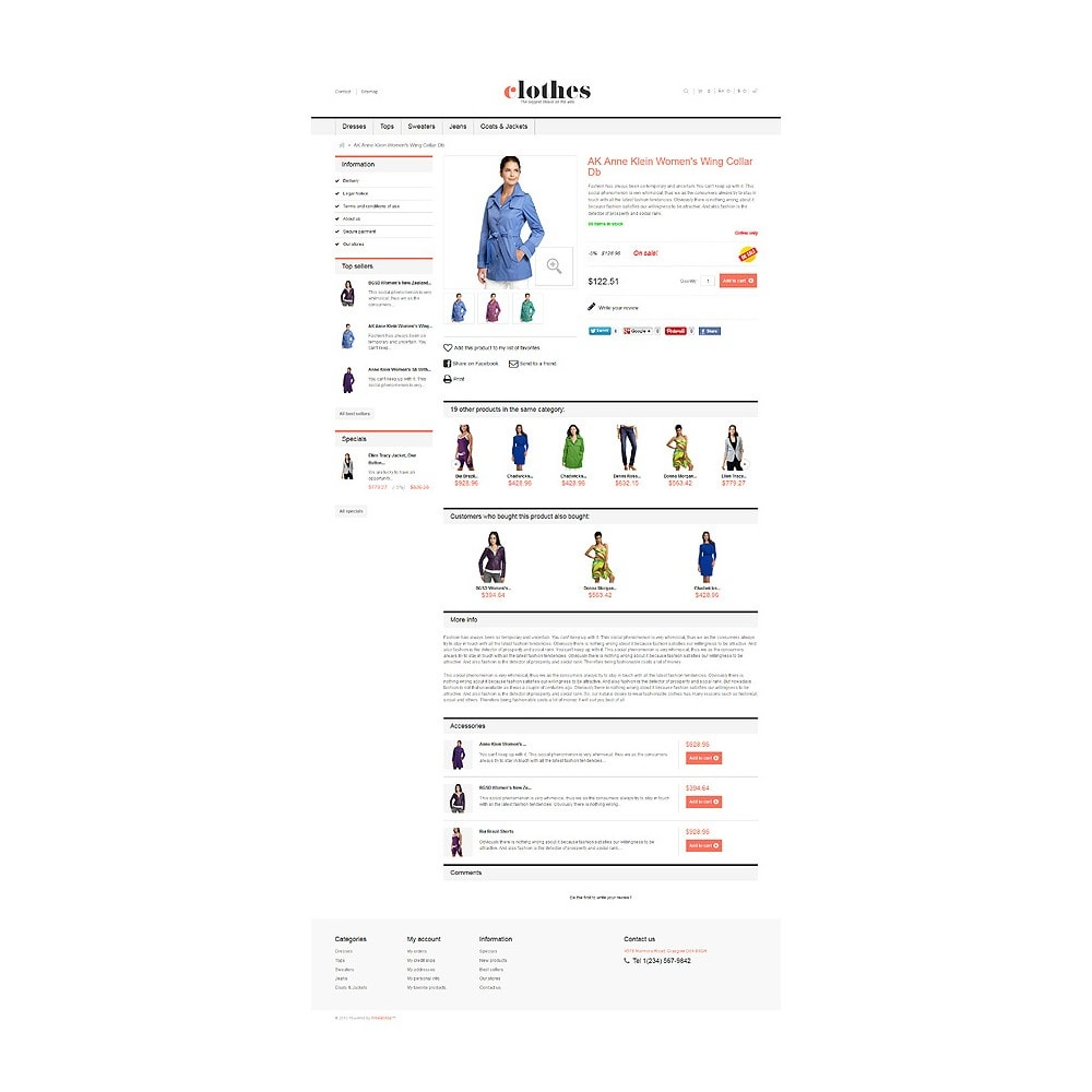 theme - Moda & Obuwie - Responsive Clothes Store - 6