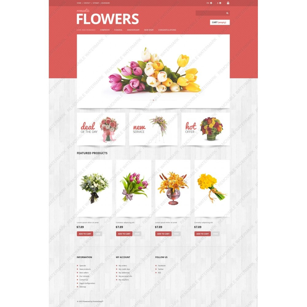 theme - Gifts, Flowers & Celebrations - Flowers Shop - 3