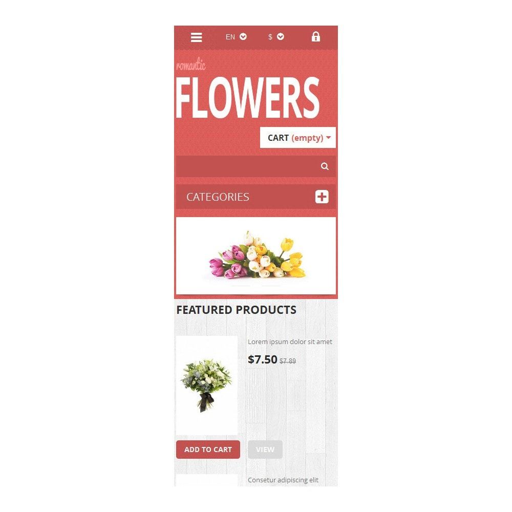 theme - Gifts, Flowers & Celebrations - Flowers Shop - 6