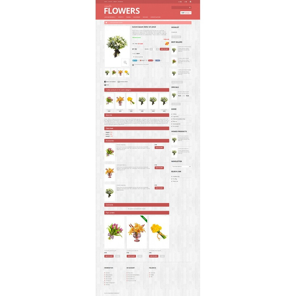 theme - Gifts, Flowers & Celebrations - Flowers Shop - 7