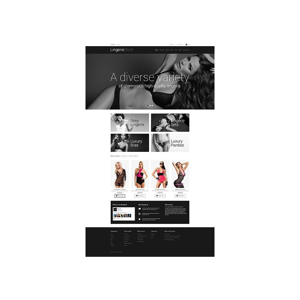 theme - Mode & Chaussures - Vente de lingerie - 10