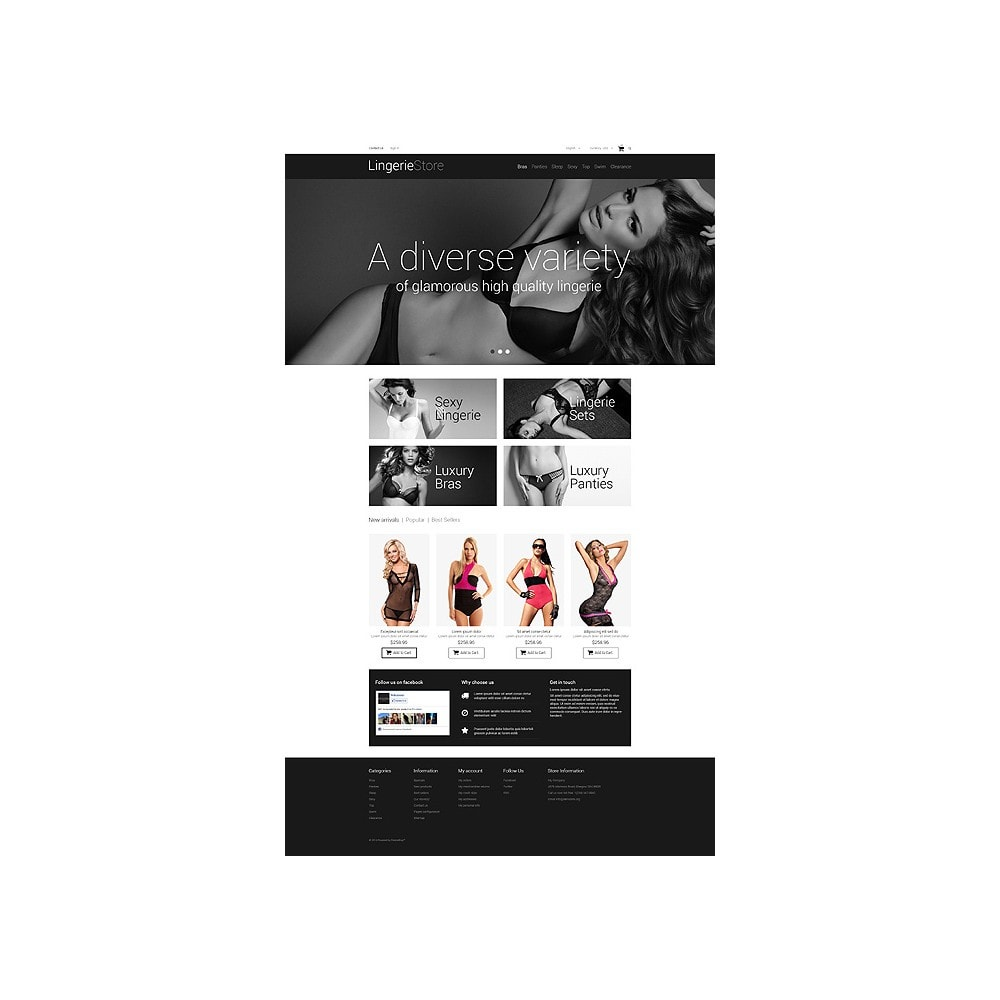 theme - Mode & Schuhe - Selling Lingerie - 10