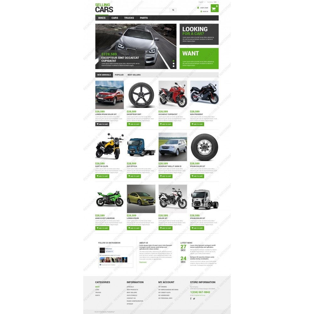 theme - Coches y Motos - Selling Cars - 5