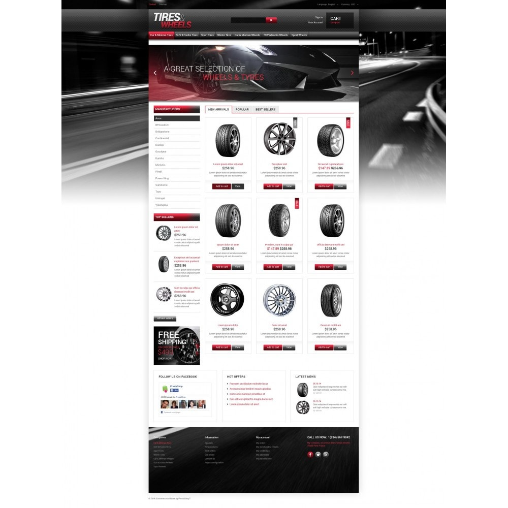 theme - Carros & Motos - Tires  Wheels for Autos - 4