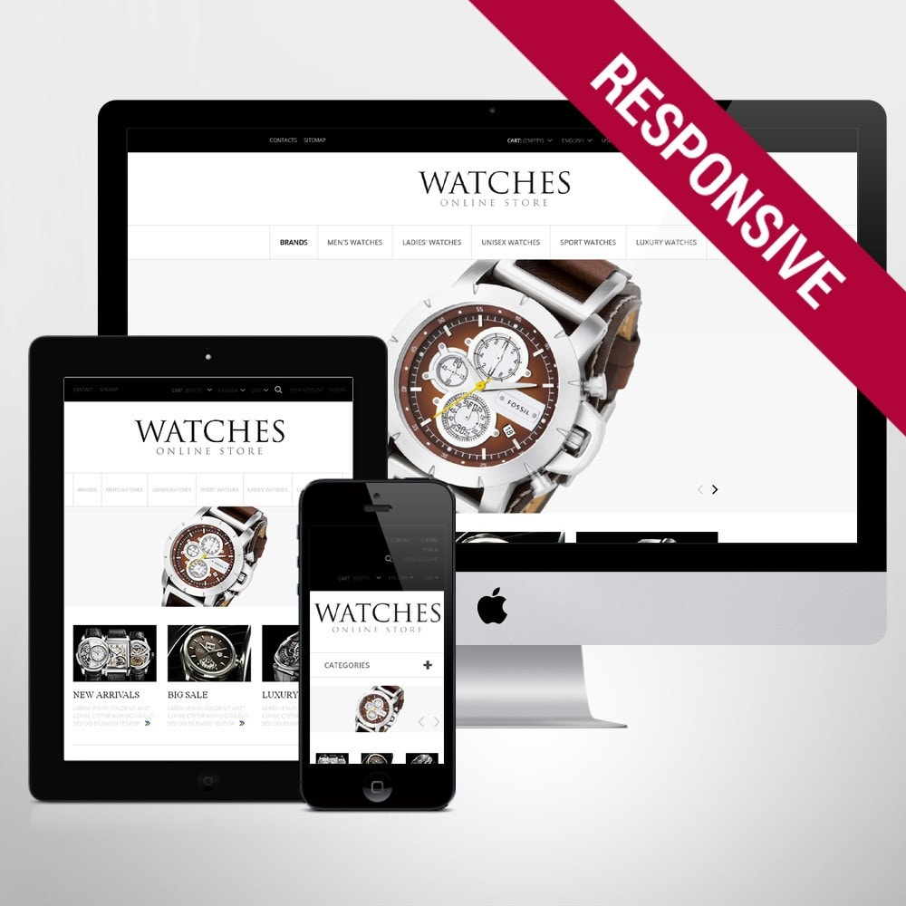 theme - Moda & Obuwie - Exclusive Watches - 1