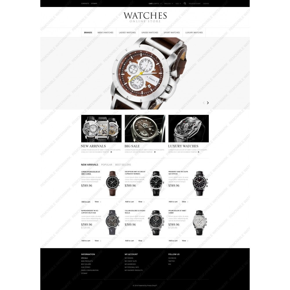 theme - Moda & Obuwie - Exclusive Watches - 5