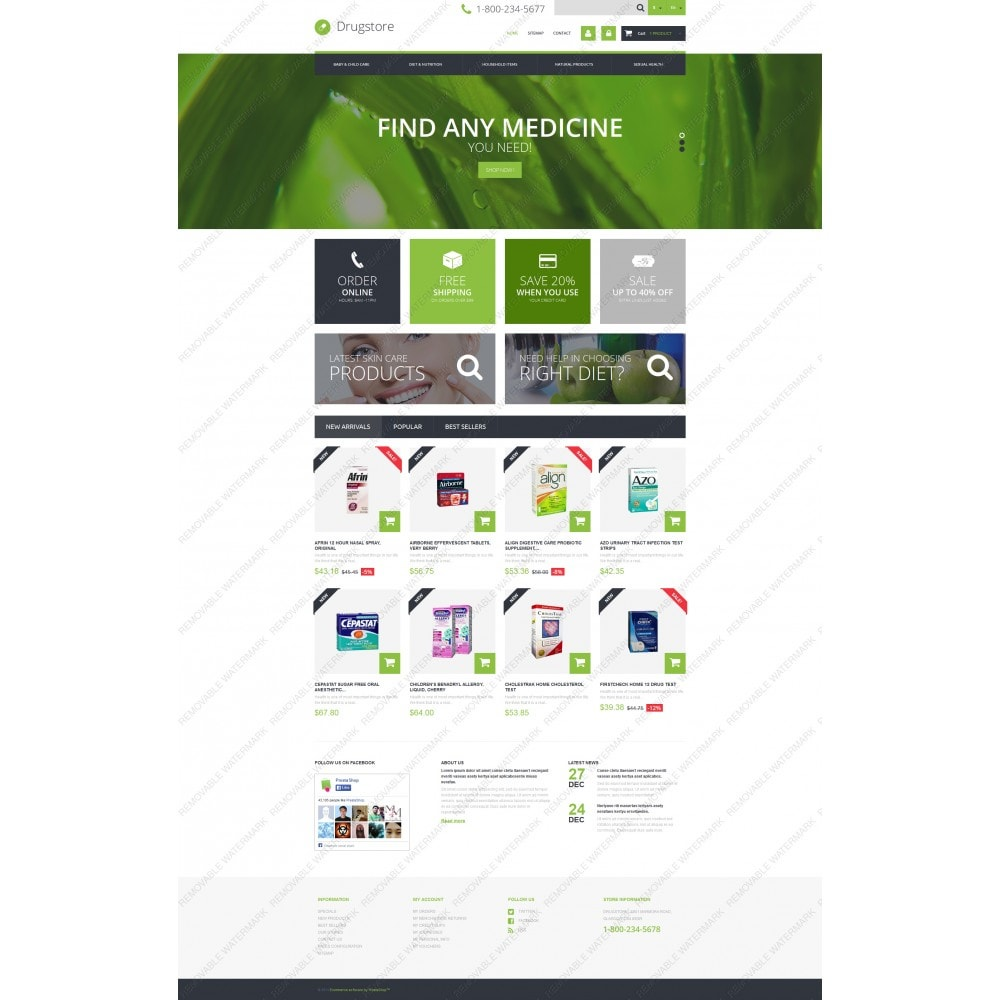 theme - Salute & Bellezza - Medical Ecommerce Business - 5