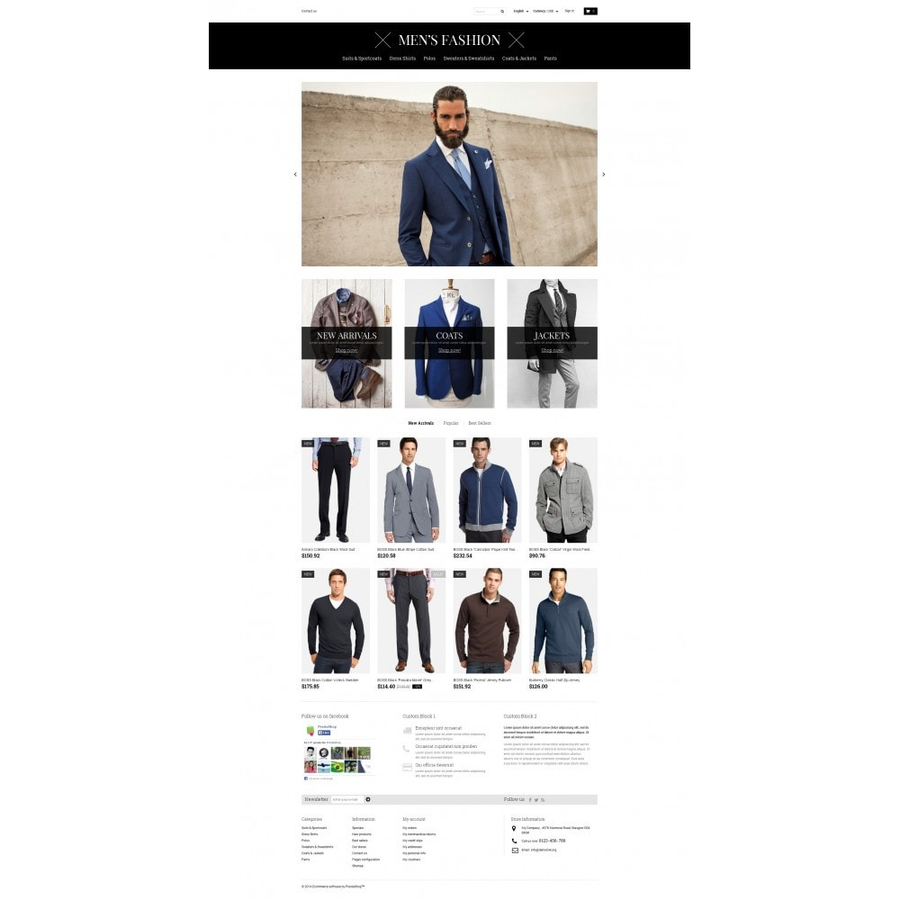 theme - Fashion & Shoes - Men's Corporate Fashion Shop - 4