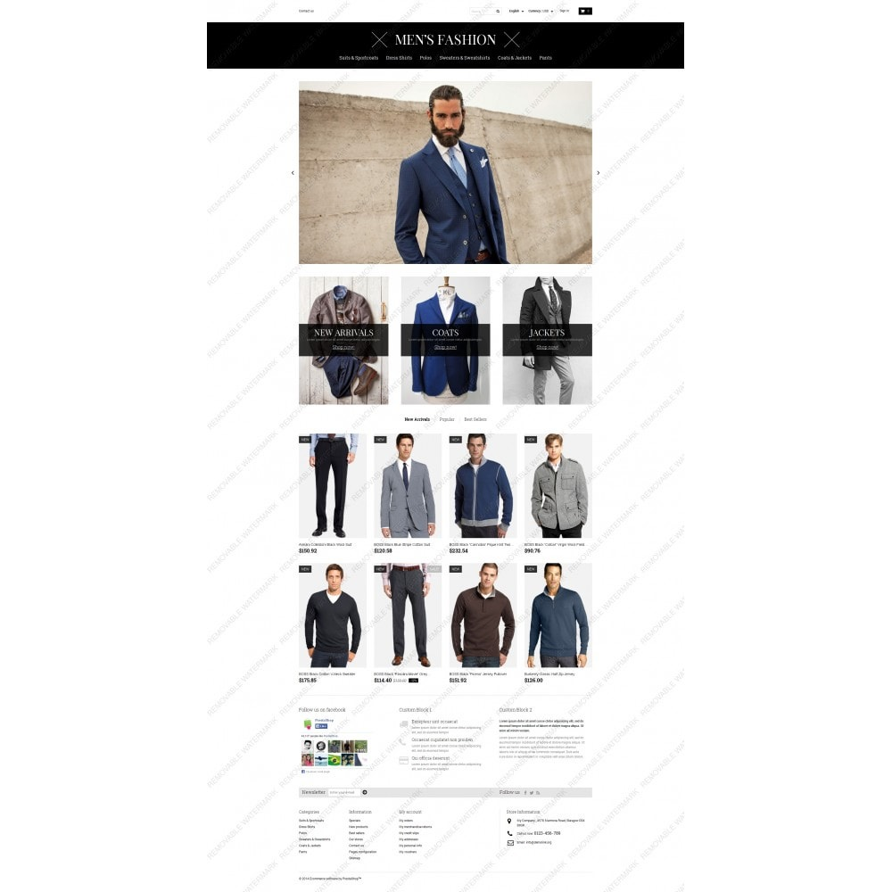 theme - Fashion & Shoes - Men's Corporate Fashion Shop - 5