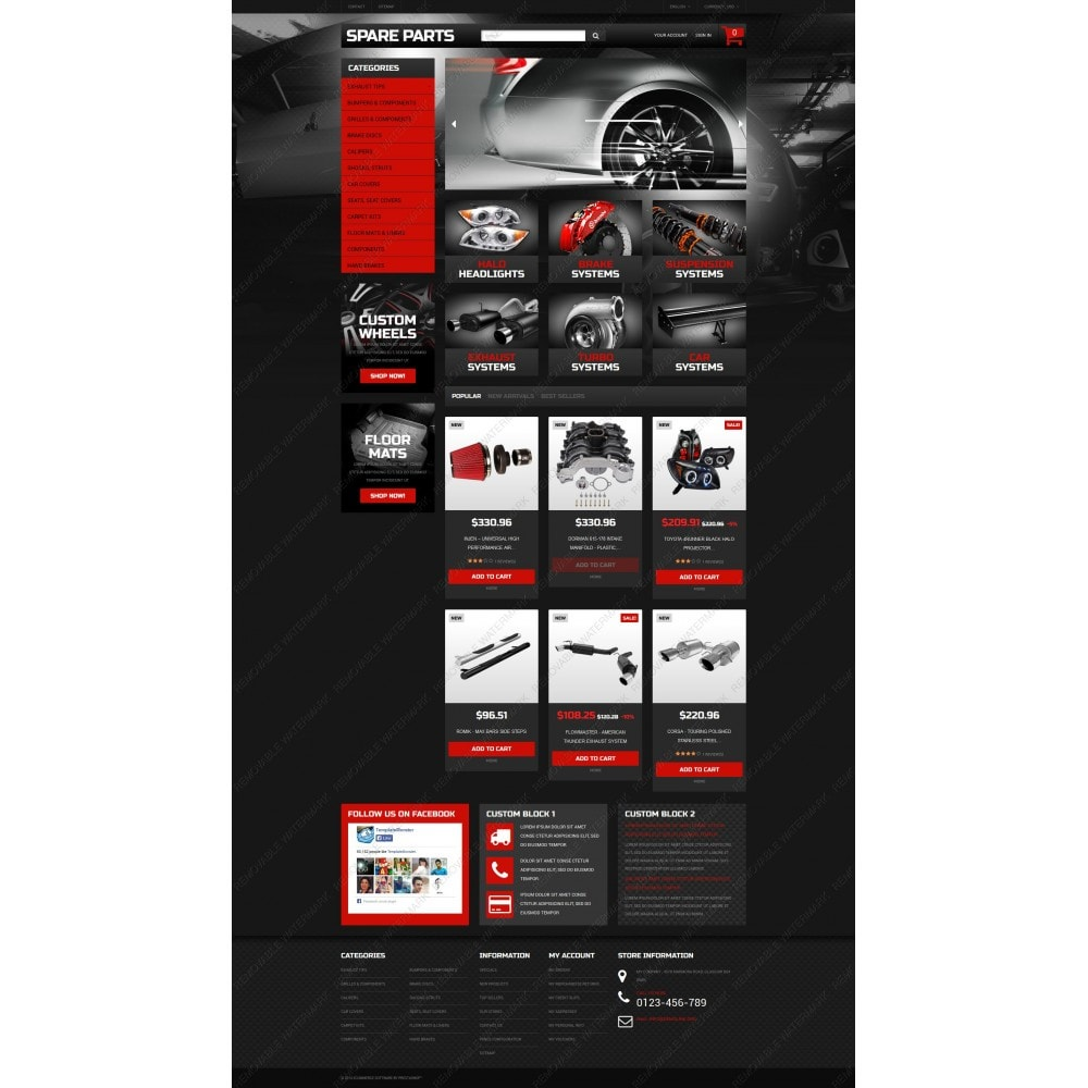 theme - Carros & Motos - Automobile Replacement Parts - 3