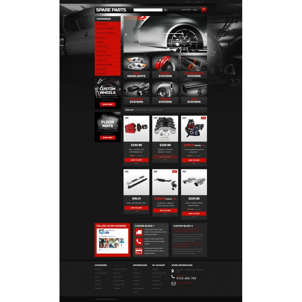 theme - Carros & Motos - Automobile Replacement Parts - 4