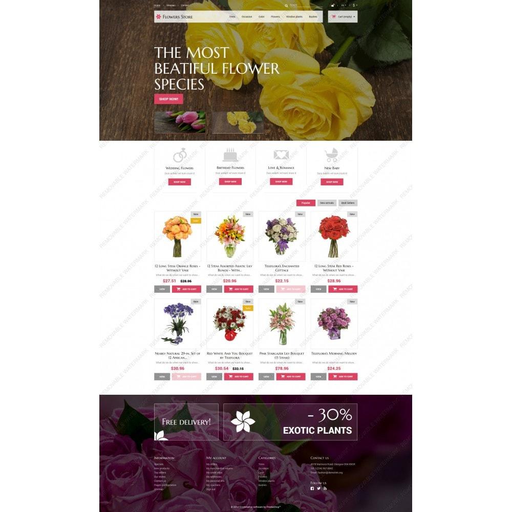 theme - Подарки, Цветы и праздничные товары - Flowers Store - 3