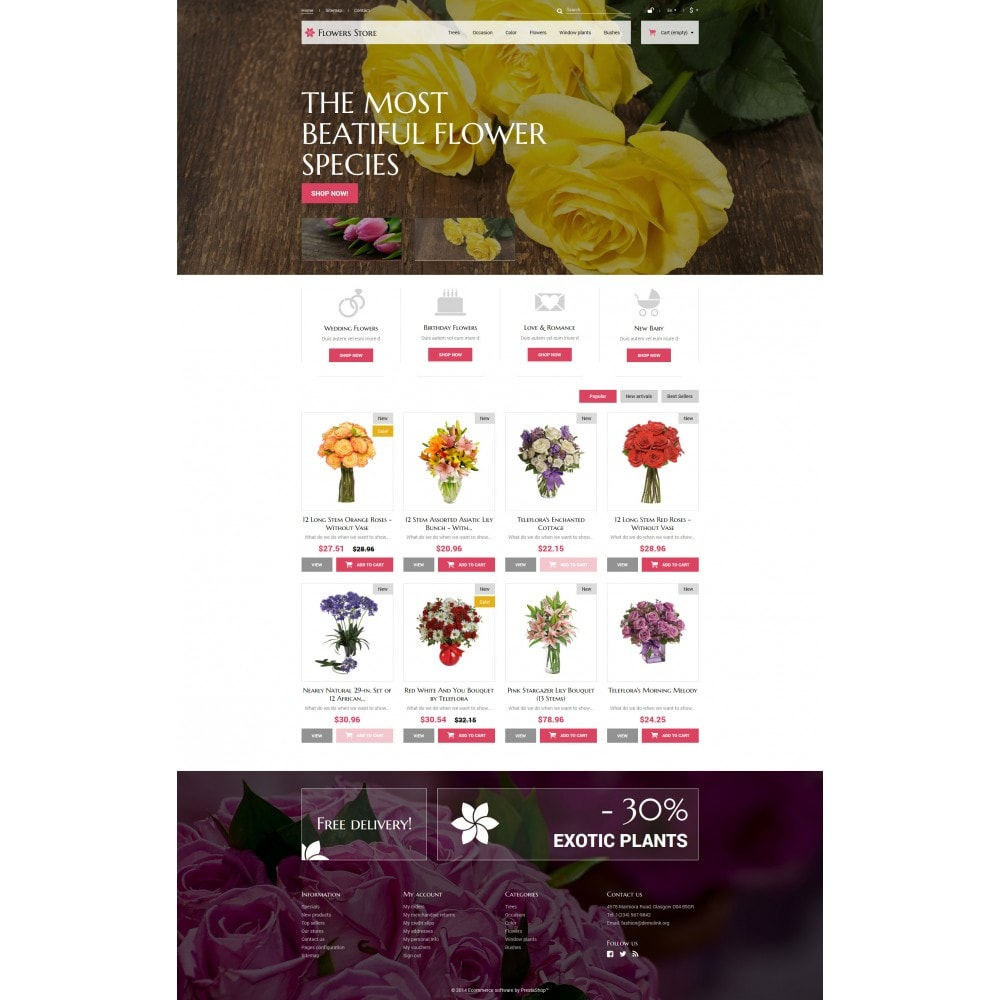 theme - Gifts, Flowers & Celebrations - Flowers Store - 4