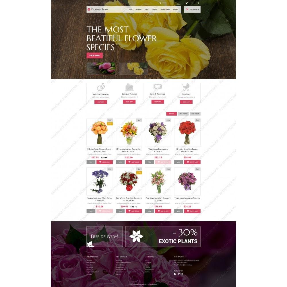 theme - Подарки, Цветы и праздничные товары - Flowers Store - 5