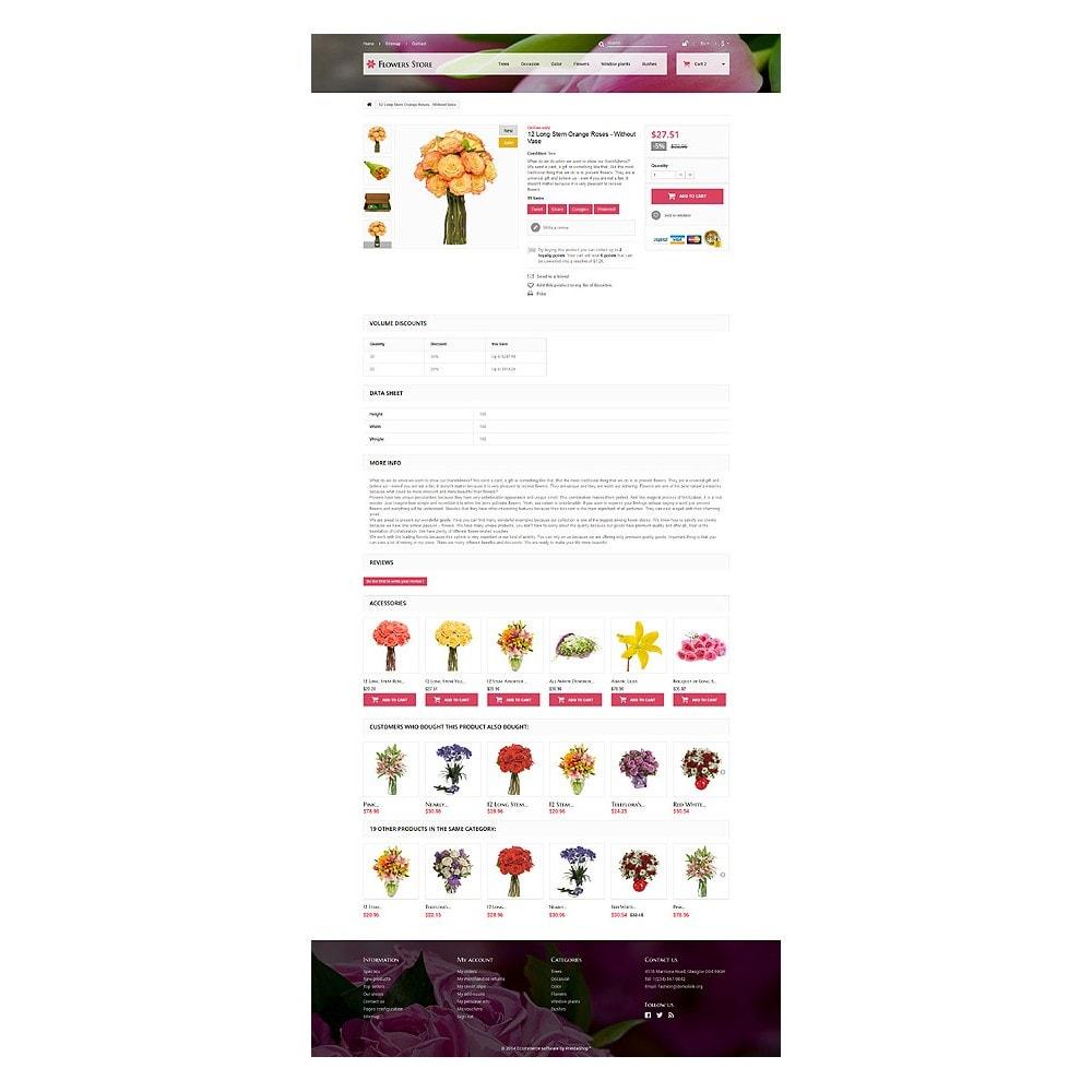 theme - Подарки, Цветы и праздничные товары - Flowers Store - 6