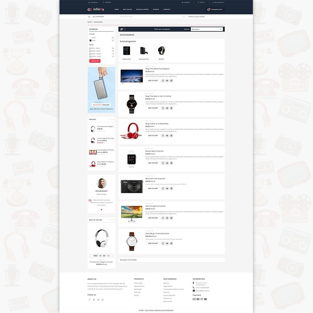 theme - Electronique & High Tech - Infinity - The Mega Ecommerce Store - 4