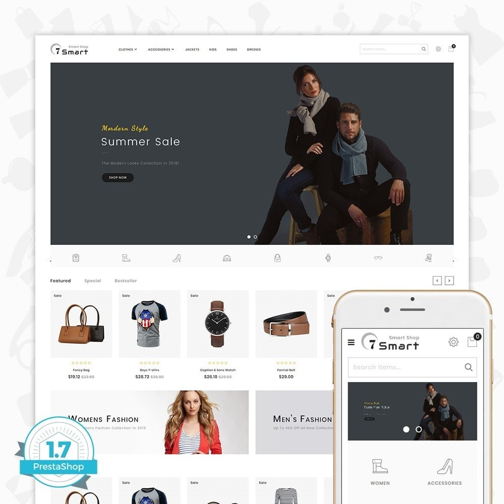 theme - Mode & Schuhe - 7 Smart  - The Smart Store - 1