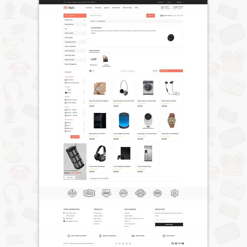 theme - Elektronika & High Tech - M-Tech- The Online Shopping - 3