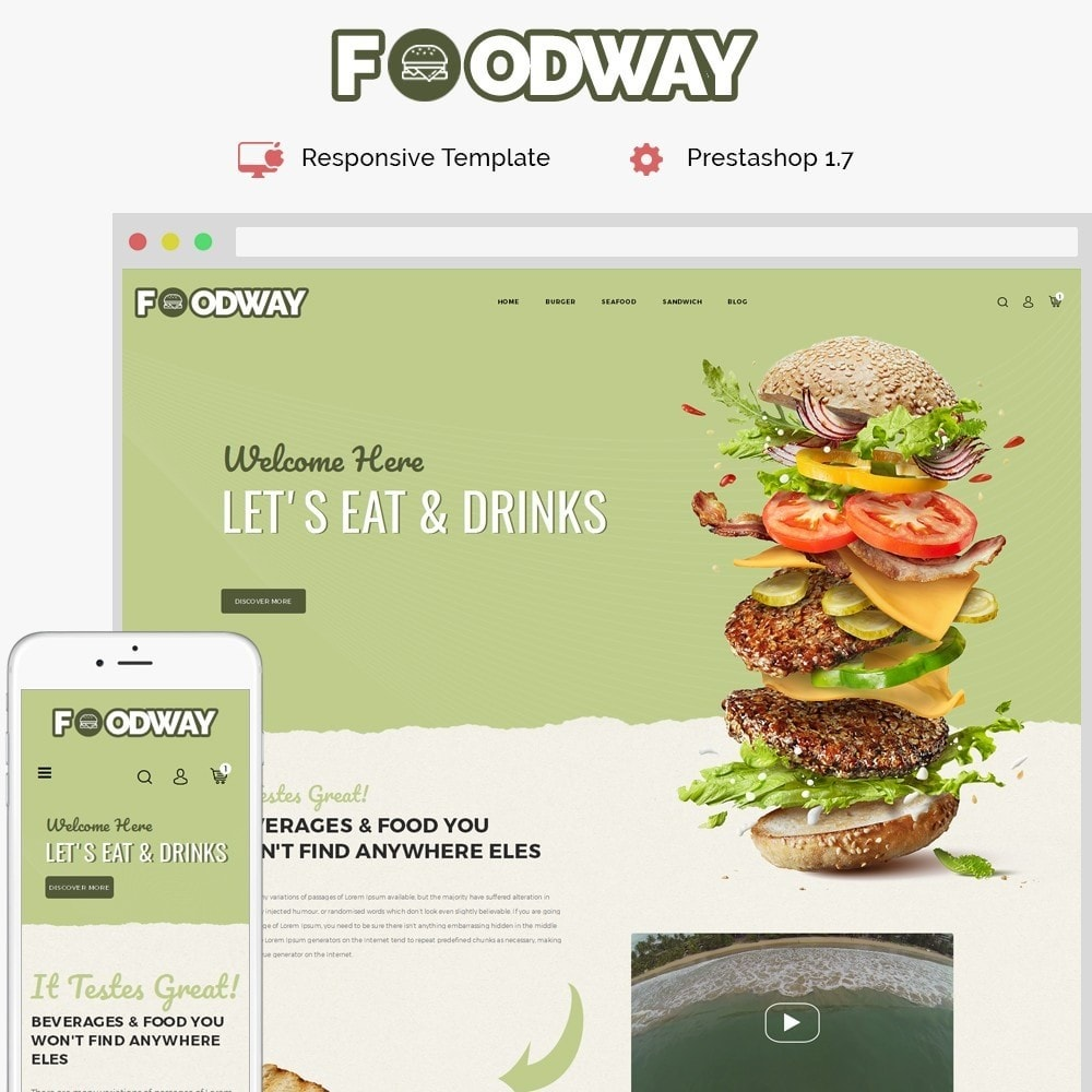 theme - Food & Restaurant - Foodway Demo Store - 1
