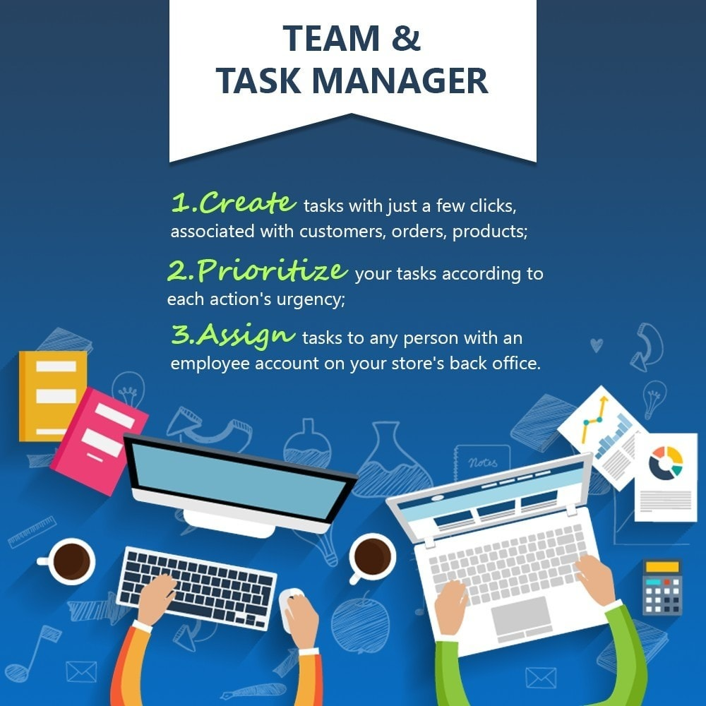 module - Administrative Tools - Team & Task Manager - 1