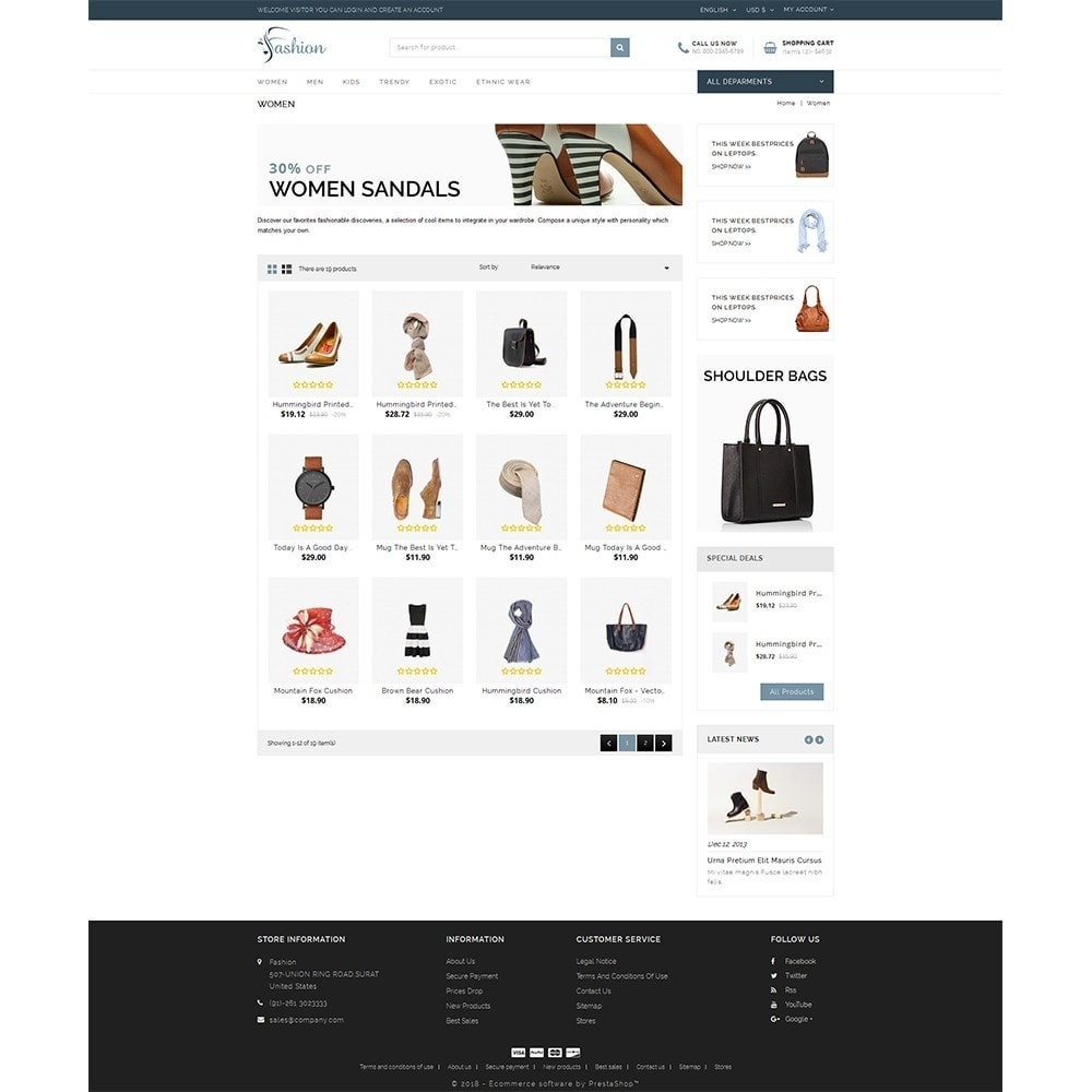 theme - Mode & Schuhe - Fashion Store - 3