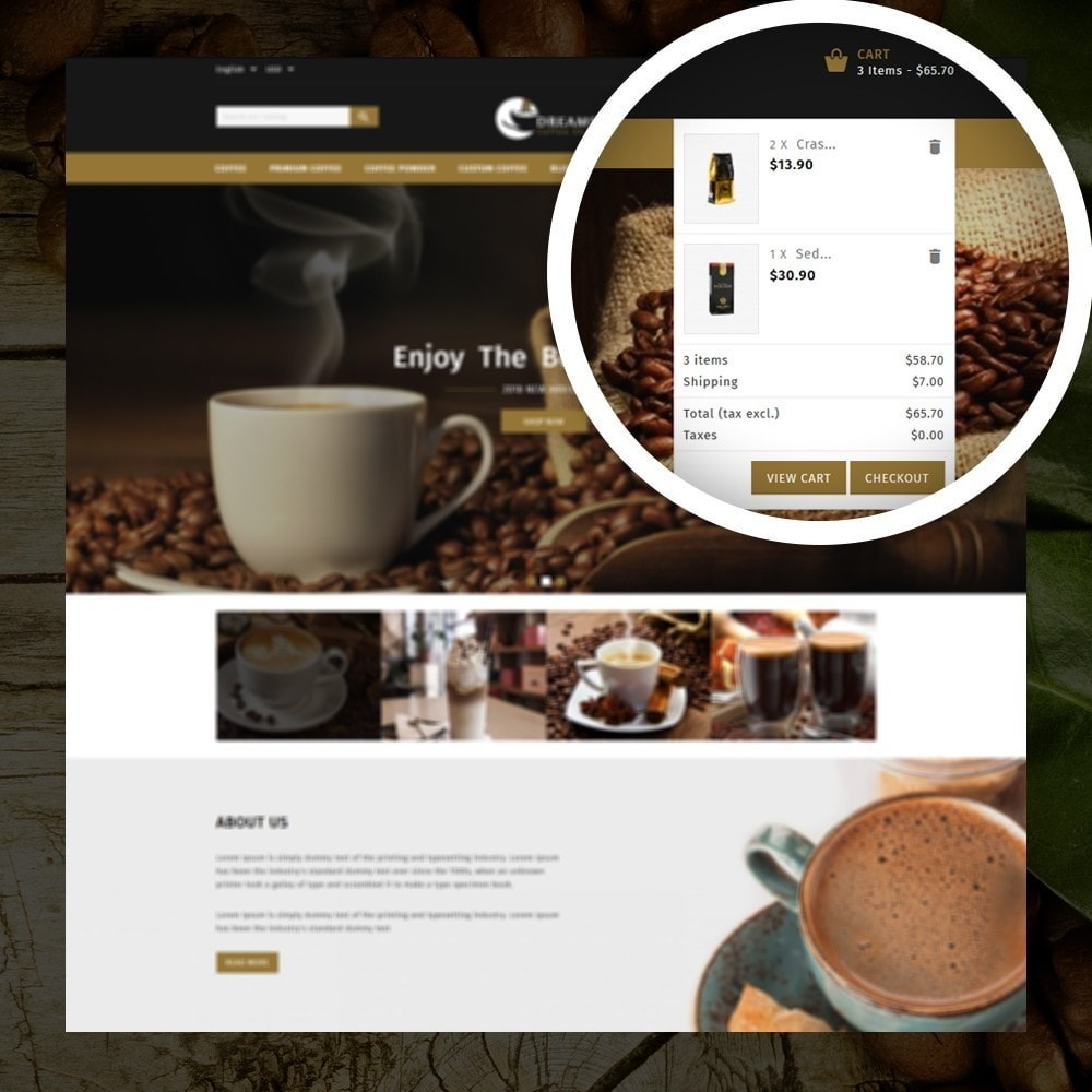 theme - Alimentation & Restauration - Dreams - Coffee Shop - 6
