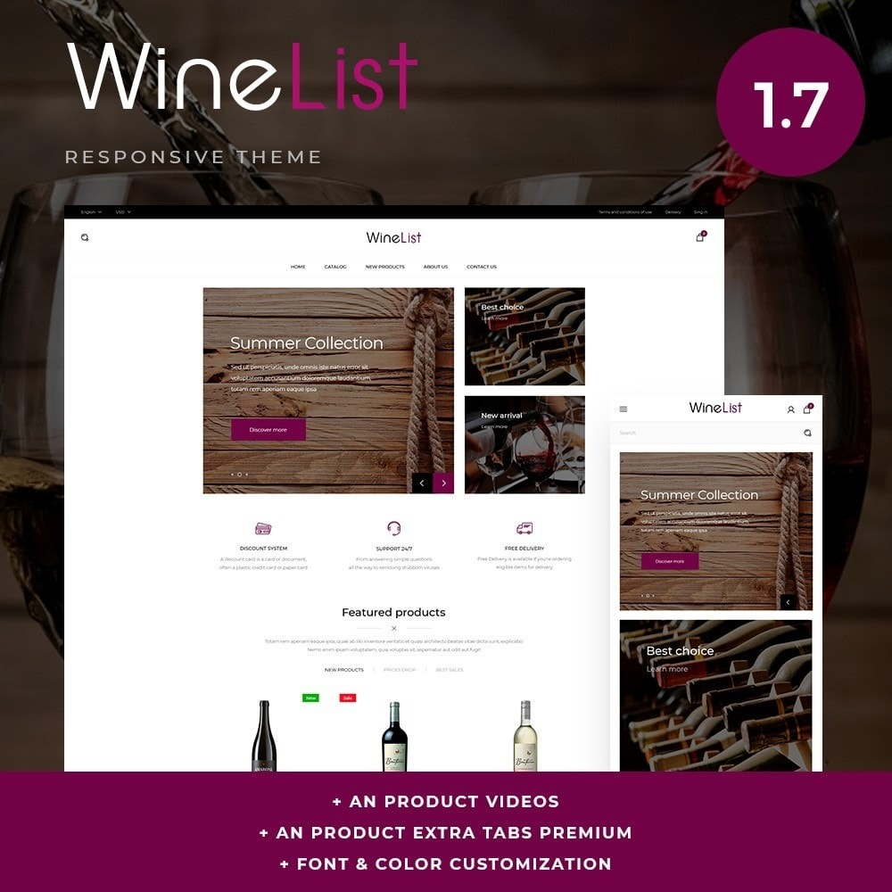theme - Bebidas & Tabaco - WineList Shop - 1