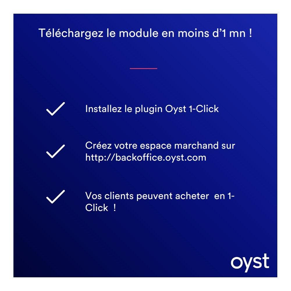 module - Paiement par Carte ou Wallet - Oyst 1-Click - 5