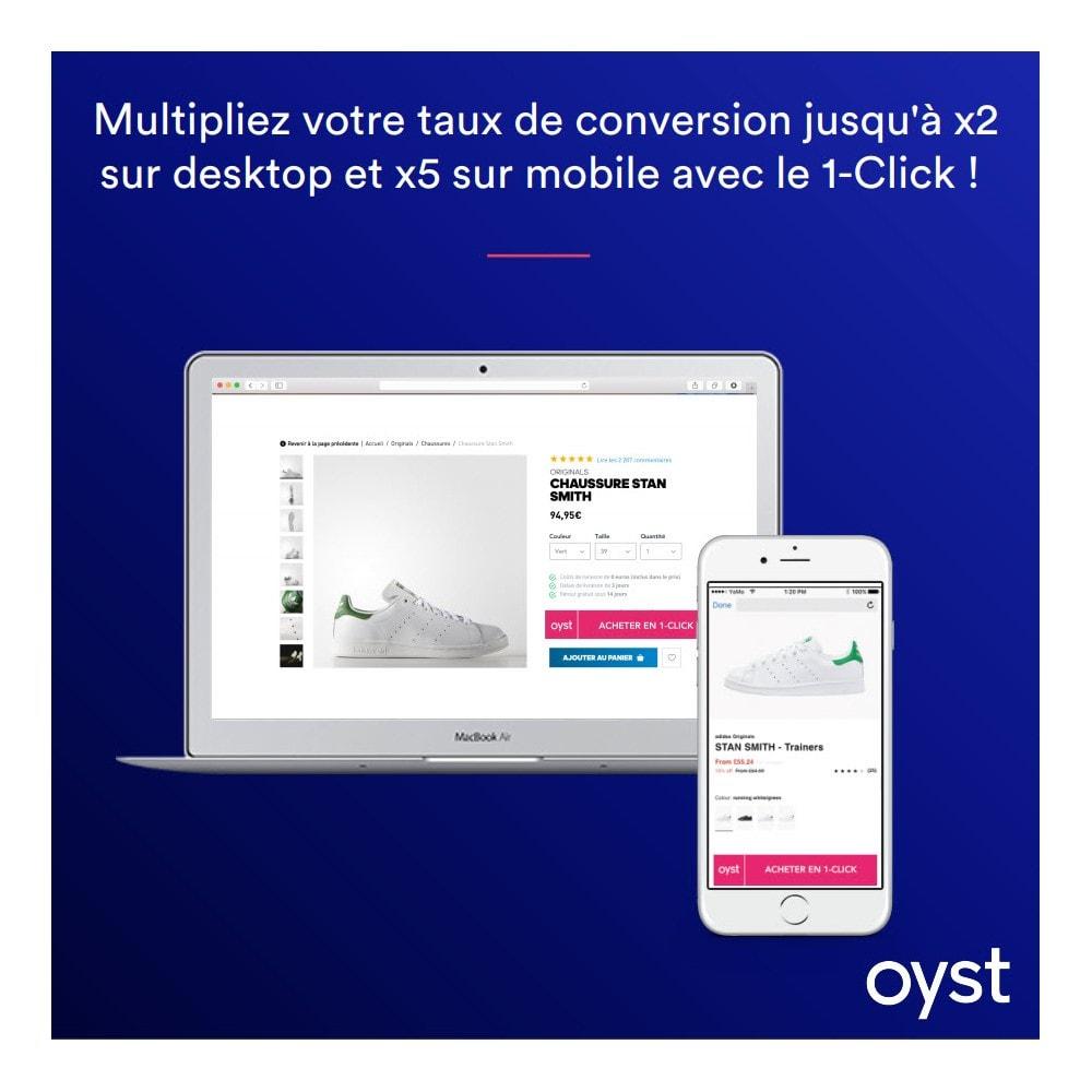 module - Paiement par Carte ou Wallet - Oyst 1-Click - 1
