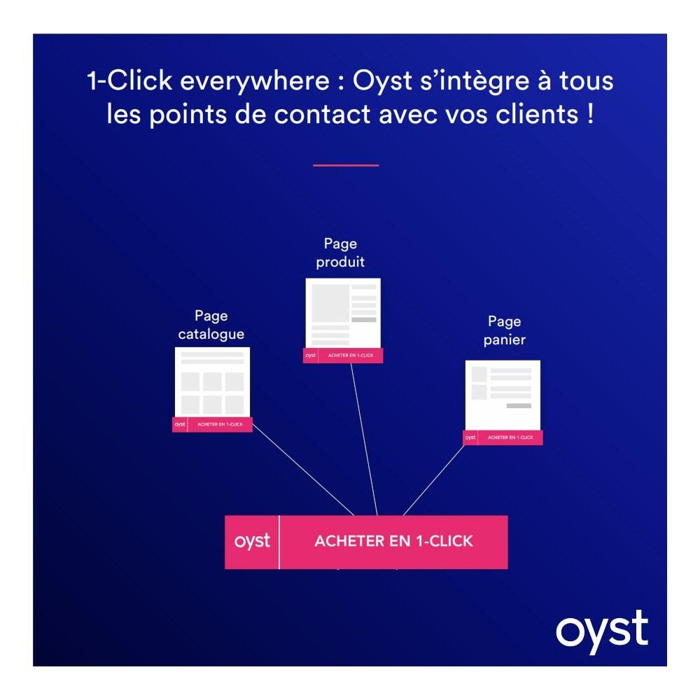 module - Paiement par Carte ou Wallet - Oyst 1-Click - 3