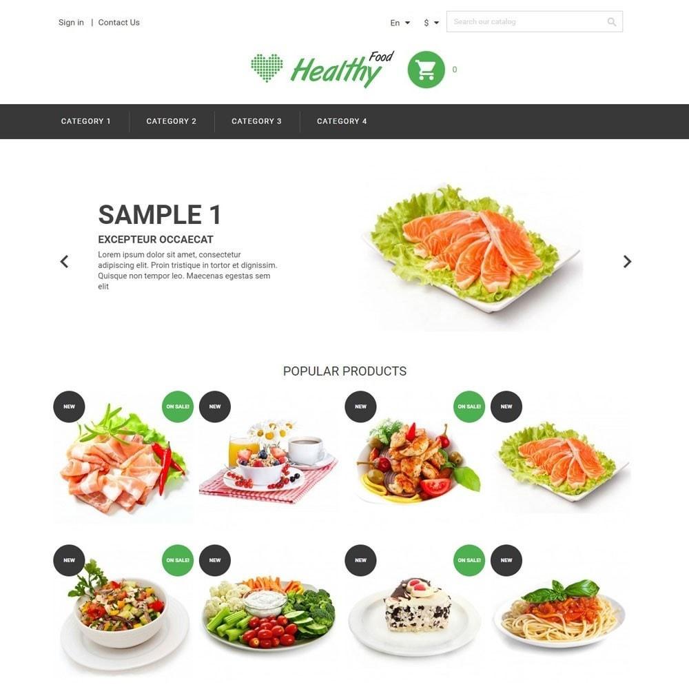 theme - Alimentation & Restauration - HealthyFood - 1