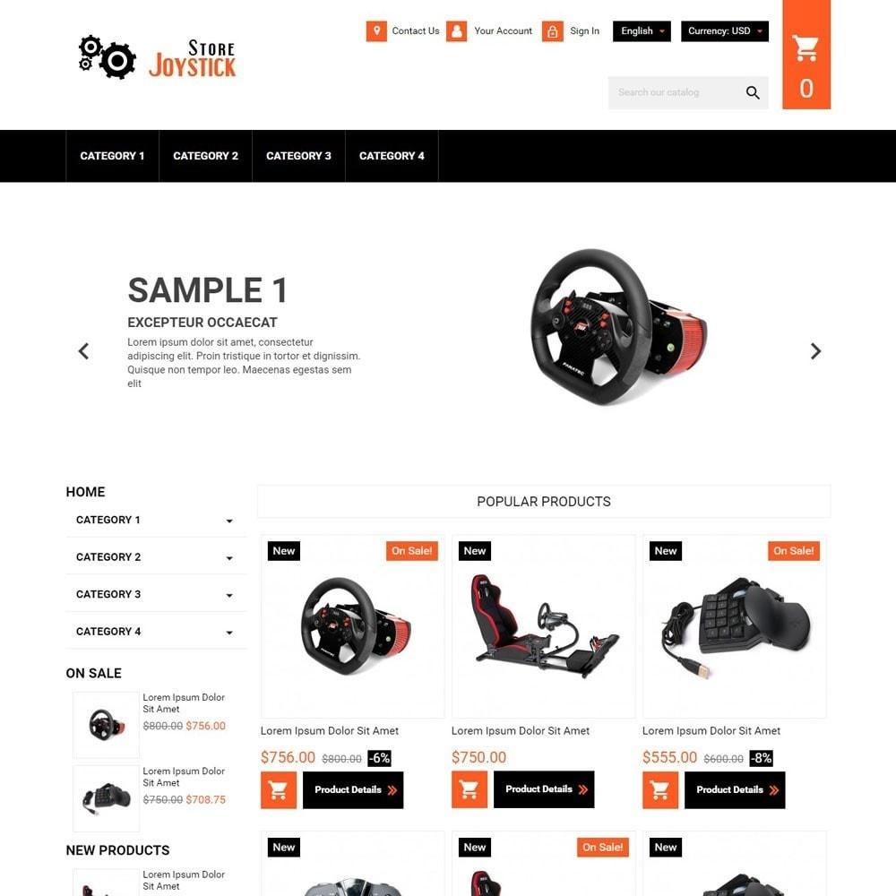 theme - Elektronica & High Tech - JoystickStore - 1