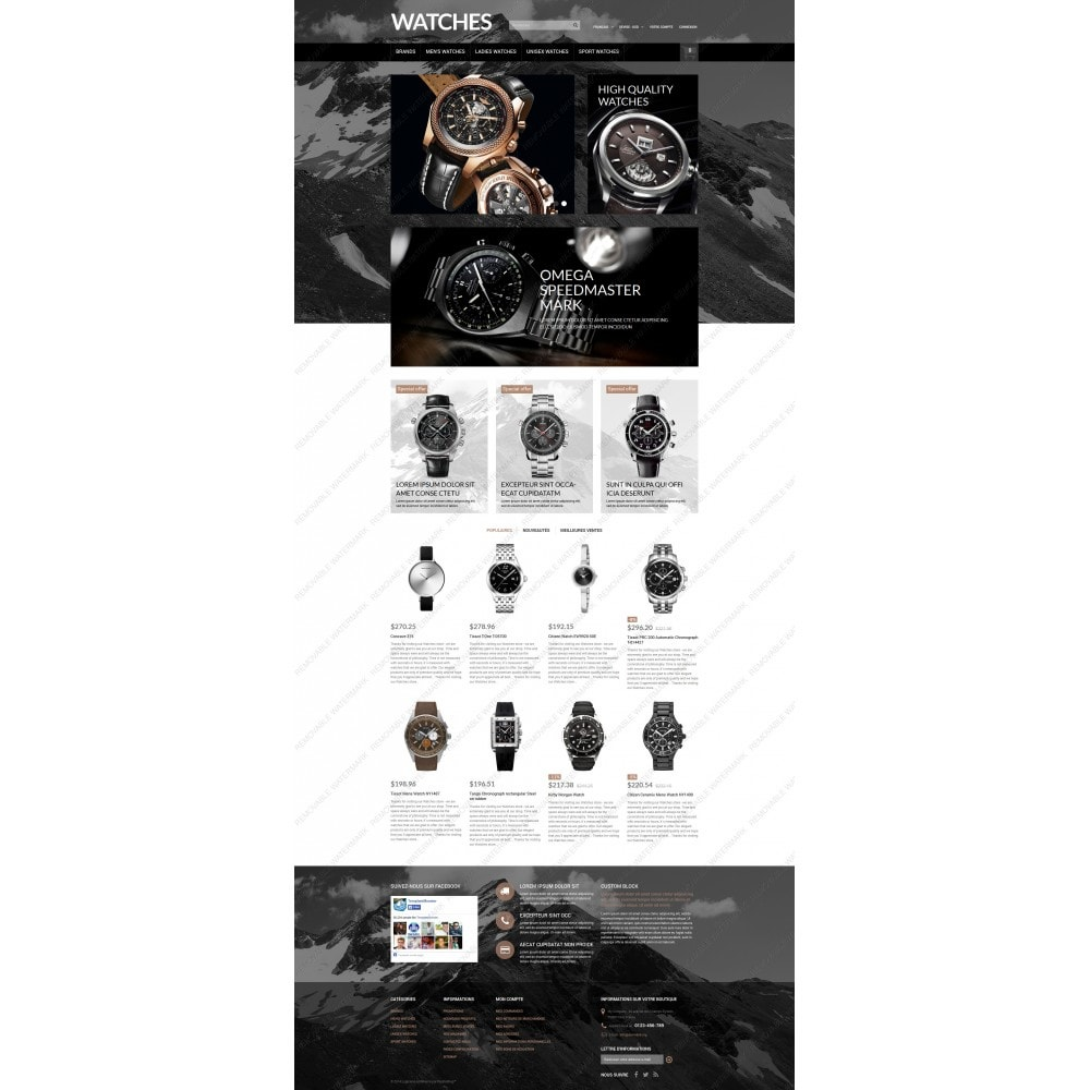 theme - Mode & Chaussures - Elegant Timepieces - 5