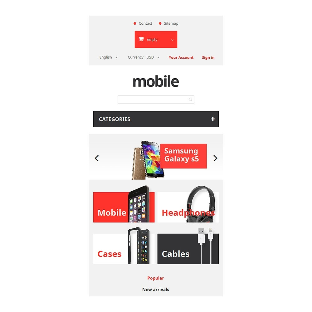 theme - Elettronica & High Tech - Mobile Phones Store - 8