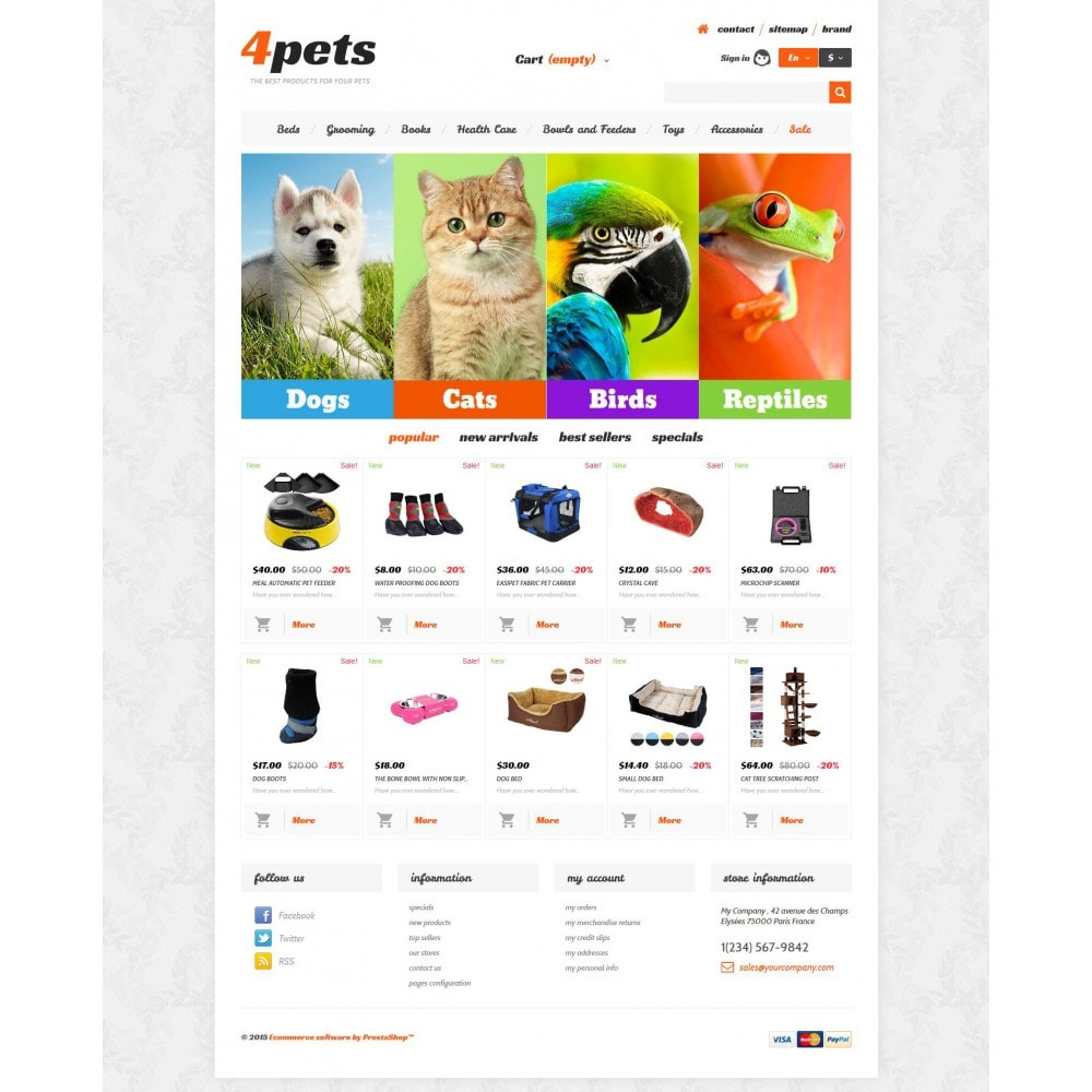 theme - Animali - 4Pets - 4