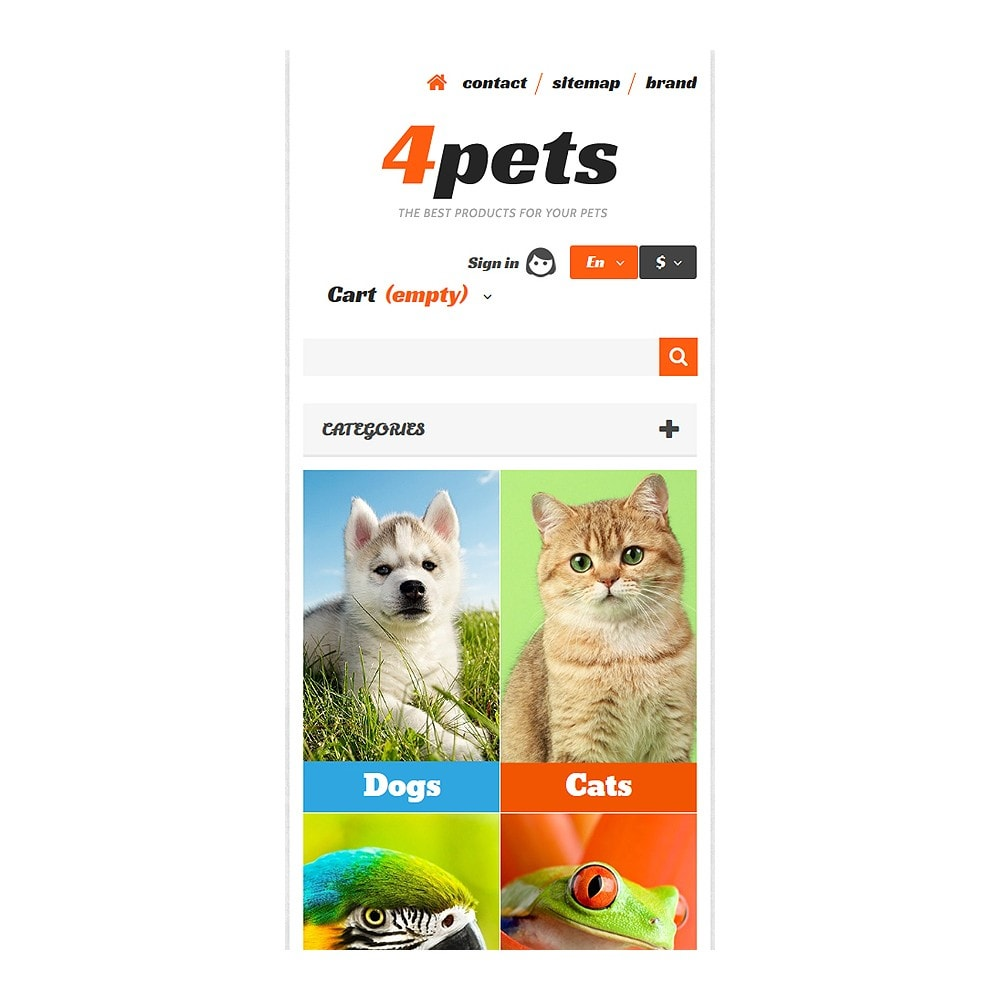 theme - Animals & Pets - 4Pets - 8