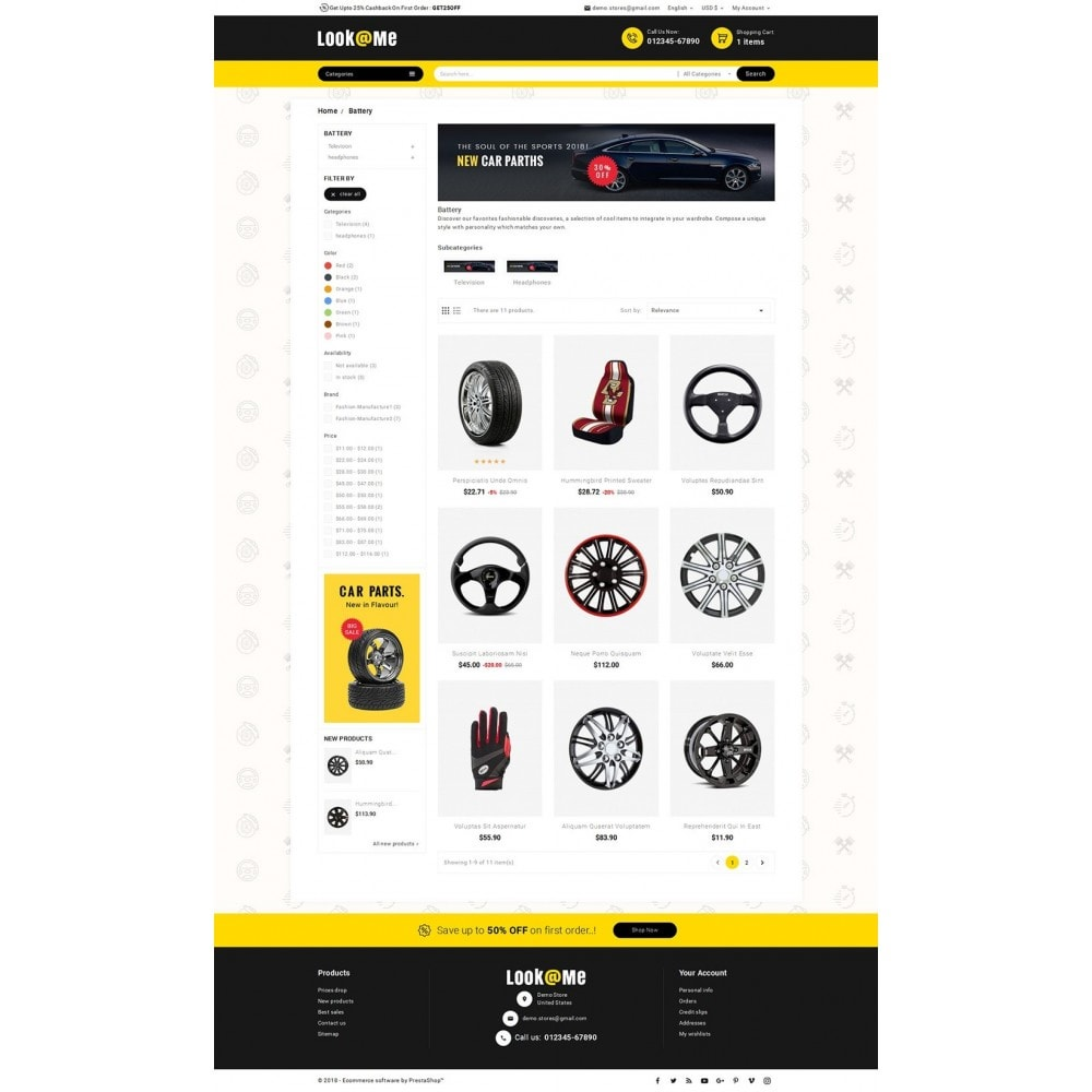 theme - Auto's & Motoren - Look me Auto Parts - 3