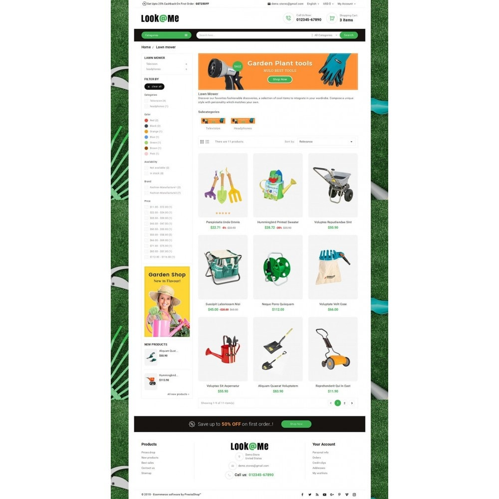 theme - Home & Garden - Look me Garden Tools - 3
