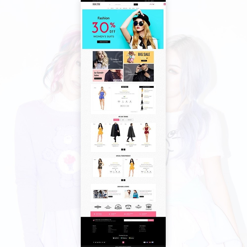 theme - Moda & Calçados - Fash Style – Fashion and Stylish Super Store - 2