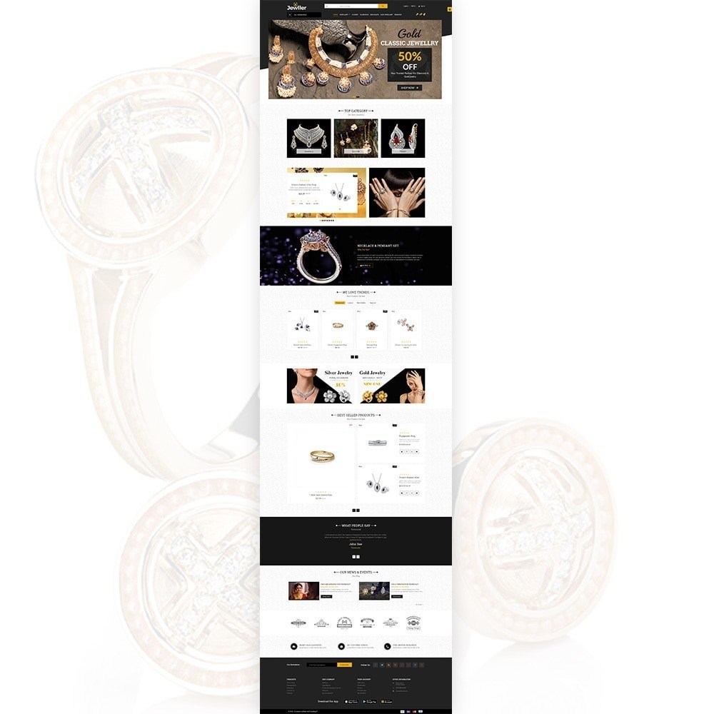 theme - Biżuteria & Akcesoria - Jeweller Jewelry and Accessories  Super Store - 3