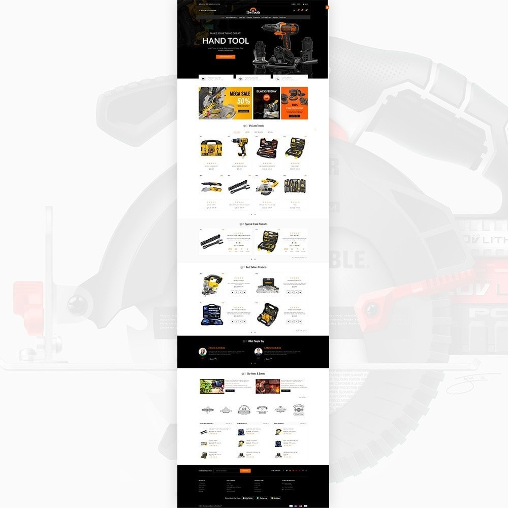 theme - Auto's & Motoren - DW Tools – Tools and Machine Super Store - 2