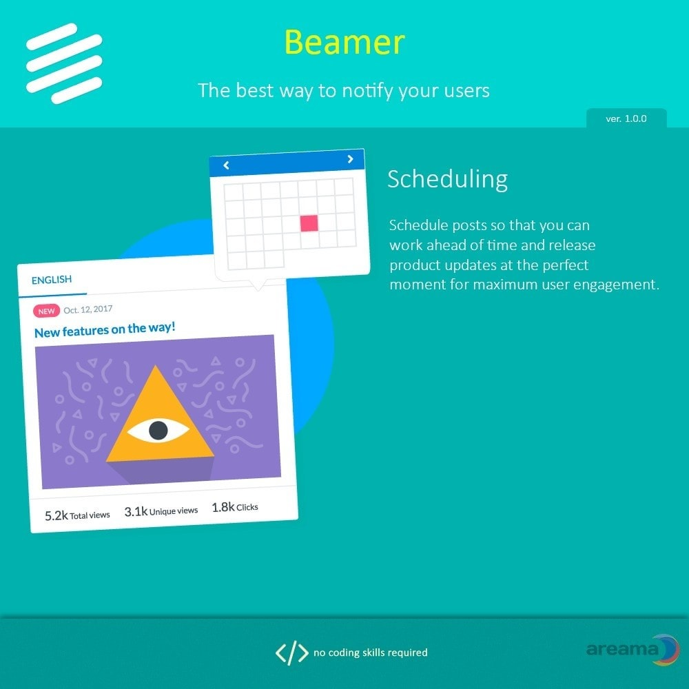 module - Блог, форумов и новостей - Beamer – The best way to notify your users - 5