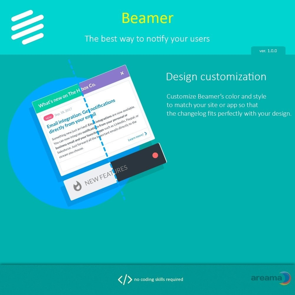 module - Блог, форумов и новостей - Beamer – The best way to notify your users - 6