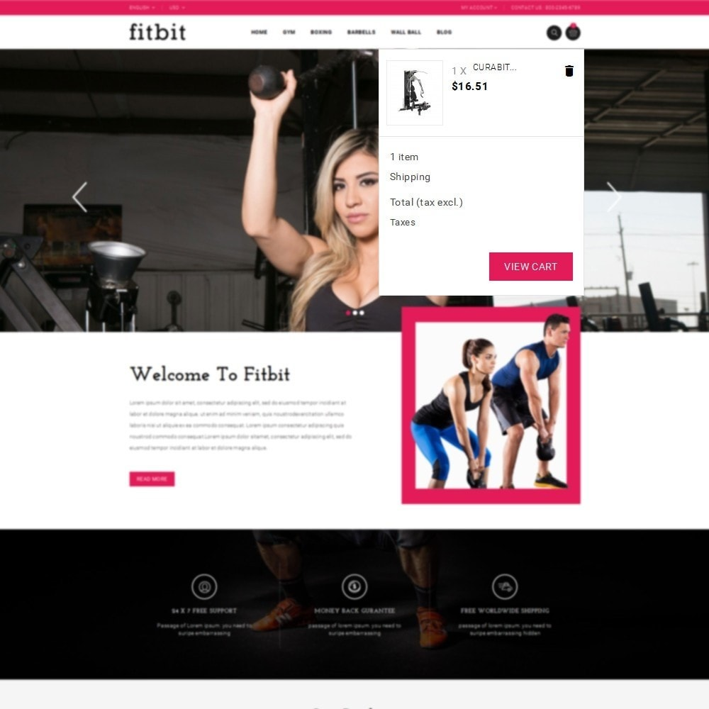 theme - Health & Beauty - Fitbit Fitness Store - 8
