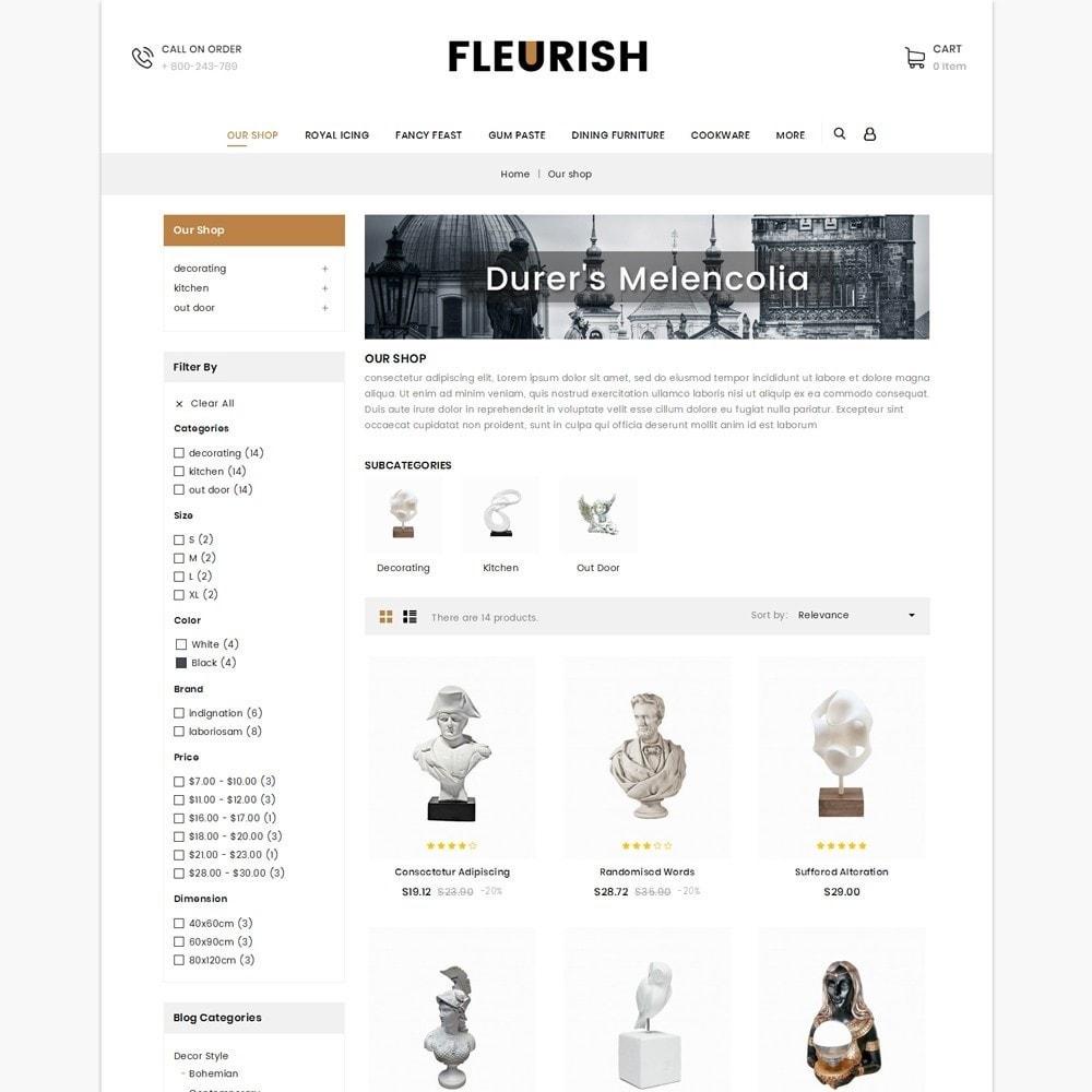 theme - Искусство и Культура - Fleurish - Art Shop - 4
