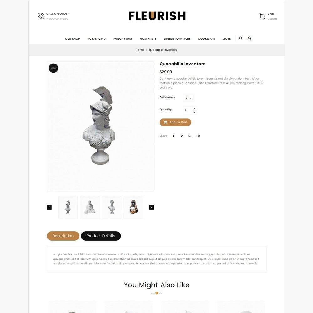 theme - Искусство и Культура - Fleurish - Art Shop - 6