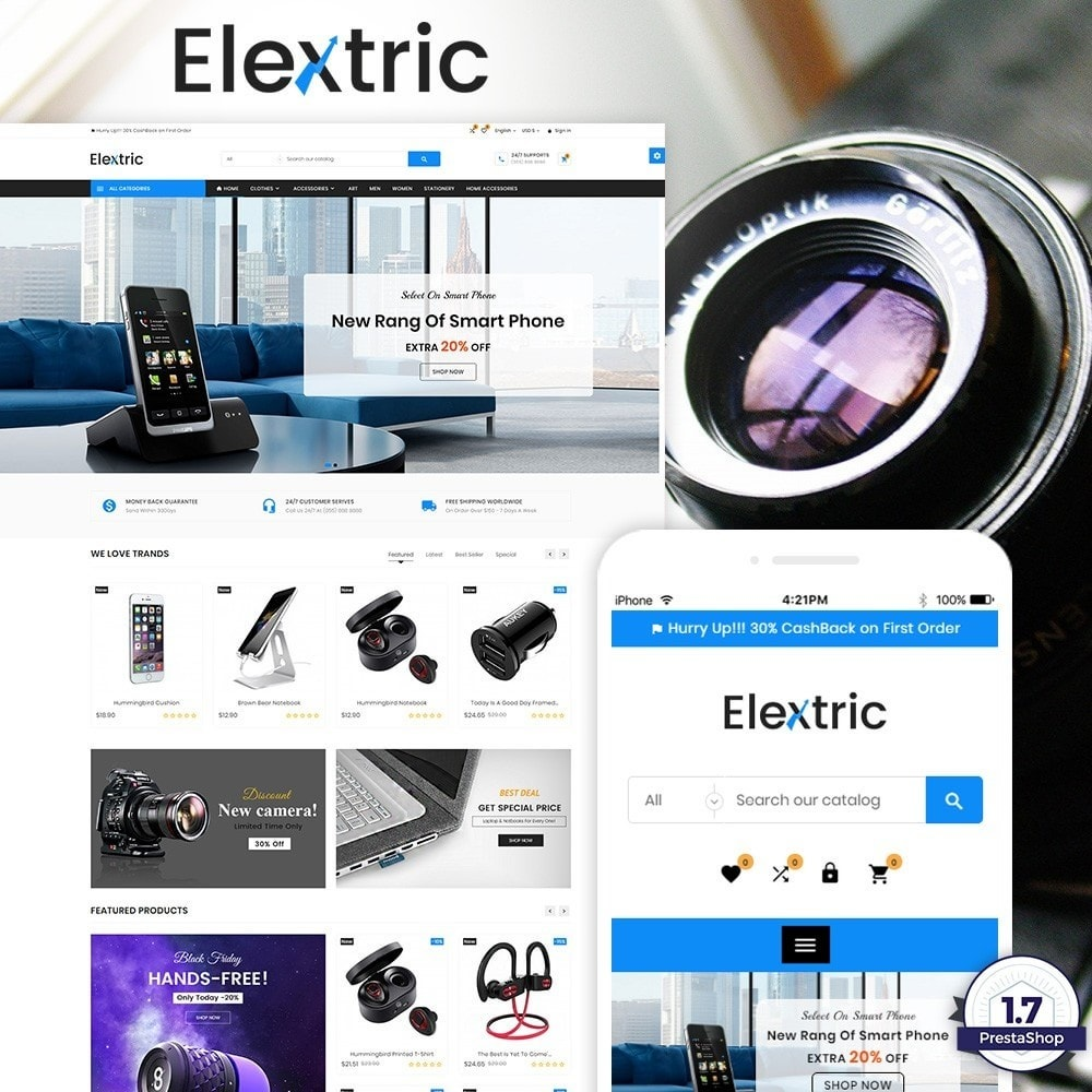 theme - Electrónica e High Tech - Electrix – Electronics and Big Super Store - 1