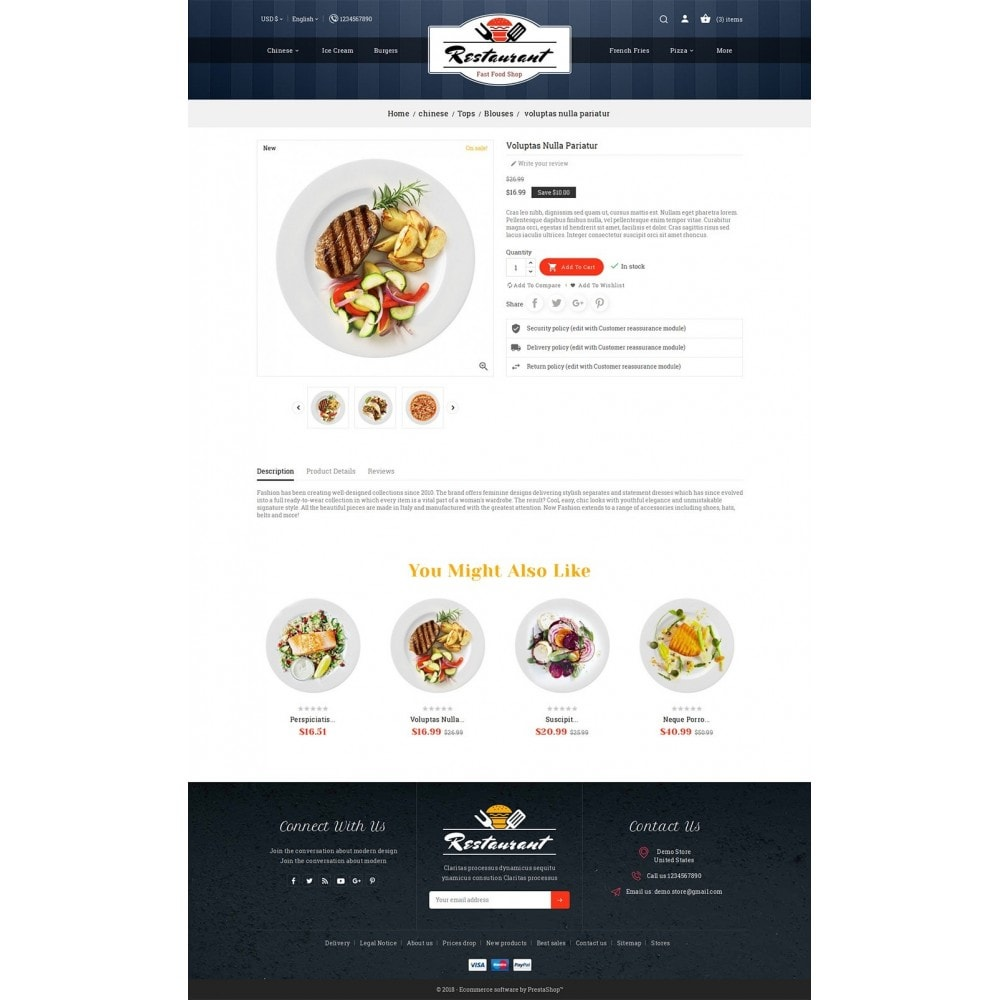 theme - Food & Restaurant - Restaurant Food - 5