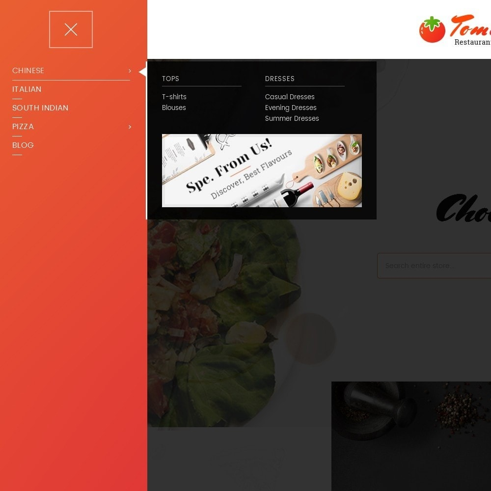 theme - Alimentation & Restauration - Tomato Food & Restaurant - 9