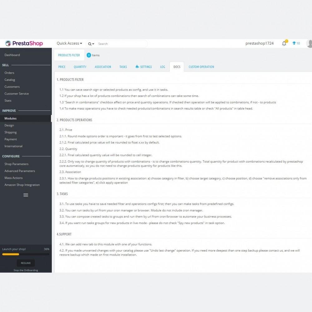 module - Быстрое & массовое редактирование - Advanced Bulk / Mass Actions + Advanced Products Filter - 12